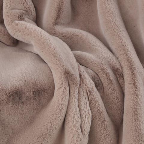Silver Orchid Conklin Contemporary Throw Blanket
