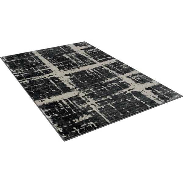 "Furniture of America Latz Traditional Grey Area Rug (5'3"" X 7'4"") - 5'3'' x 7'4''"