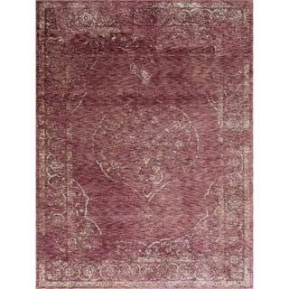 The Curated Nomad Ledyard Vintage Red Area Rug - 5' x 7'