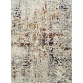 The Curated Nomad Ledyard Contemporary Beige Area Rug - 5' x 7'