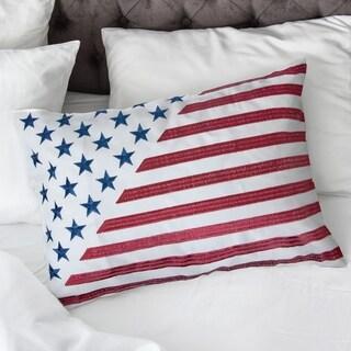 Porch & Den Tamarron Stylized Flag Accent Pillows (Set of 2)