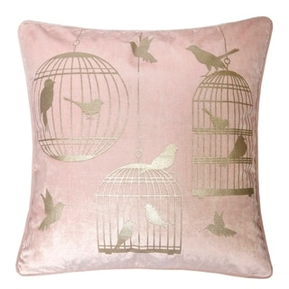 The Curated Nomad Birdcage Contemporary Accent Pillows (Set of 2)