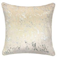 Furniture of America Taylor Modern Chenille Jacquard Feather Accent Pillows (Set of 2)
