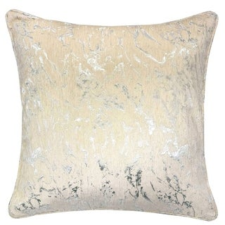 Silver Orchid Purviance Jacquard Feather Accent Pillows (Set of 2)