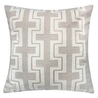 Furniture of America Sofia Linen Contemporary Accent Pillows (Set of 2)