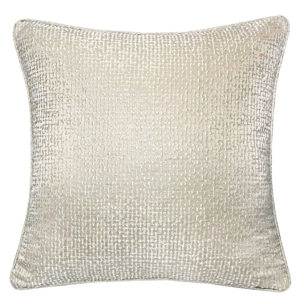 Furniture of America Taylor Cotton/Linen 20-inch x 20-inch Modern Accent Pillow (Set of 2)