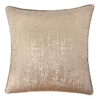 Silver Orchid Purviance Modern Textured Feather Accent Pillows (Set of 2)