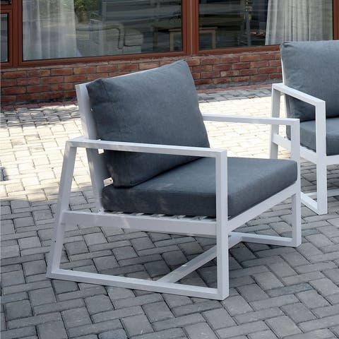 Marino Contemporary Patio Arm Chair by FOA