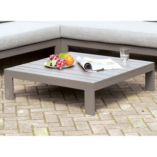 Havenside Home Covelo Grey Patio Coffee Table