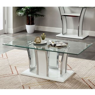 Silver Orchid McAvory Modern Coffee Table