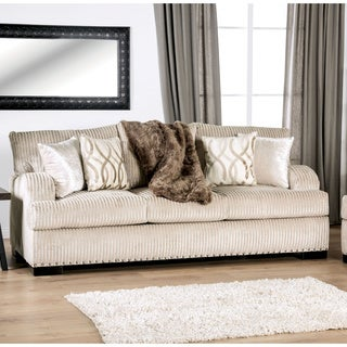 Copper Grove Zestafoni Ivory Sofa