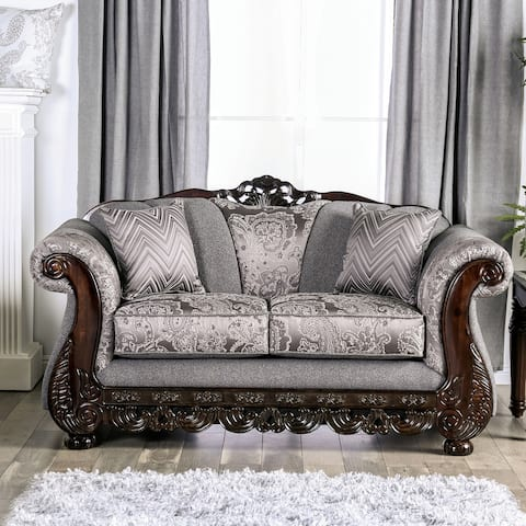 Gracewood Hollow Dikic Traditional Semi-firm Loveseat
