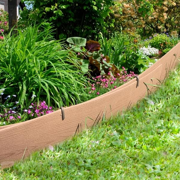 Edging Coil Garden Landscape Border 5 3 Inches X 20 Feet Coffee Overstock 27601690