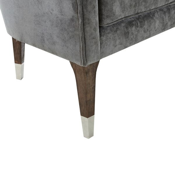 Groovy Shop Madison Park Mervyns Charcoal Accent Chair Free Inzonedesignstudio Interior Chair Design Inzonedesignstudiocom