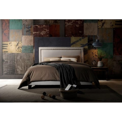 Copper Grove Brieuc Upholstered Panel Bed