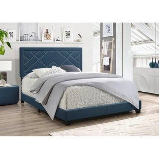 Floella Upholstered Panel Bed