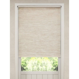 Natural Fiber Heather Tan Cordless Roller Shade