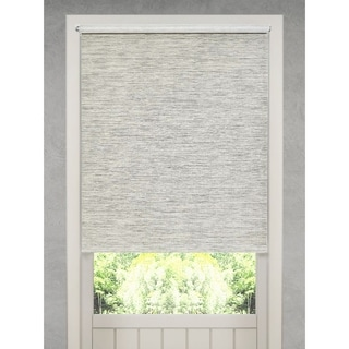 Link to Natural Fiber Heather Grey Cordless Roller Shade Similar Items in Blinds & Shades