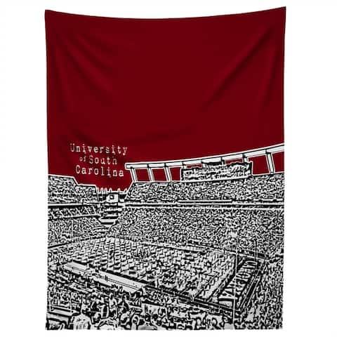 Deny Designs University Of South Carolina Dark Red Tapestry (2 Size Options)