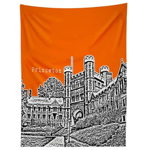 Deny Designs Princeton University Orange Tapestry (2 Size Options)