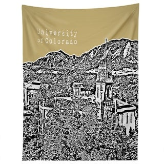 Deny Designs University Of Colorado Yellow Tapestry (2 Size Options)