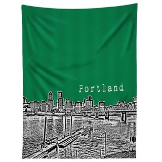 Deny Designs Portland Green Tapestry (2 Size Options)