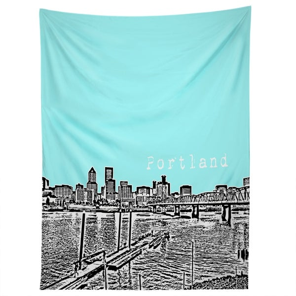 Deny Designs Portland Ice Tapestry (2 Size Options)