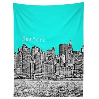 Deny Designs New York Aqua Tapestry (2 Size Options)