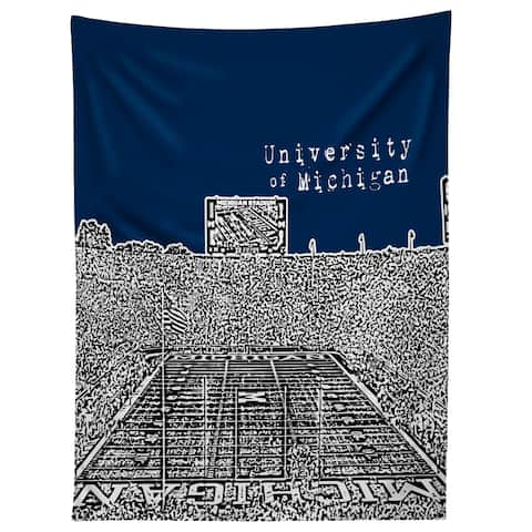 Deny Designs University Of Michigan Navy Tapestry (2 Size Options)