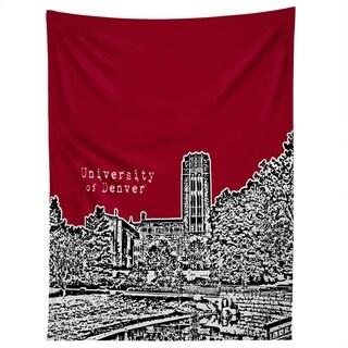 Deny Designs University Of Denver Red Tapestry (2 Size Options)