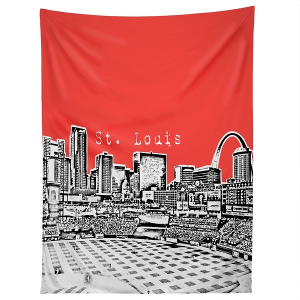 Deny Designs St Louis Red Tapestry (2 Size Options)