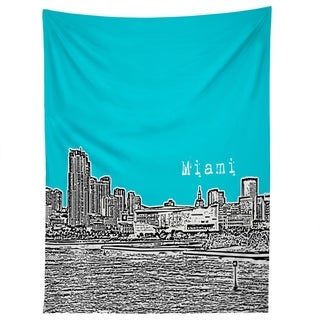 Deny Designs Miami Teal Tapestry (2 Size Options)