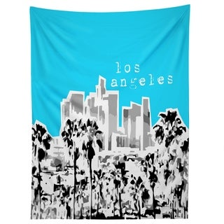 Deny Designs Los Angeles Aqua Tapestry (2 Size Options)