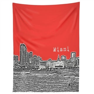 Deny Designs Miami Red Tapestry (2 Size Options)
