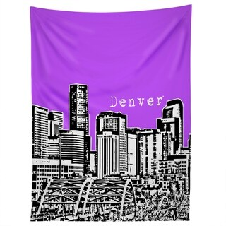 Deny Designs Denver Purple Tapestry (2 Size Options)