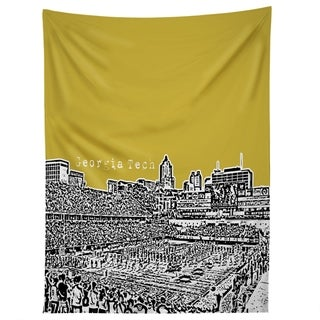 Deny Designs Georgia Tech Yellow Tapestry (2 Size Options)