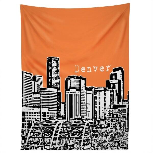 Deny Designs Denver Orange Tapestry (2 Size Options)