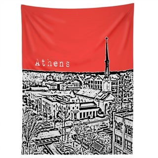 Deny Designs Athens Red Tapestry (2 Size Options)