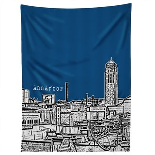 Deny Designs Ann Arbor Navy Tapestry (2 Size Options)