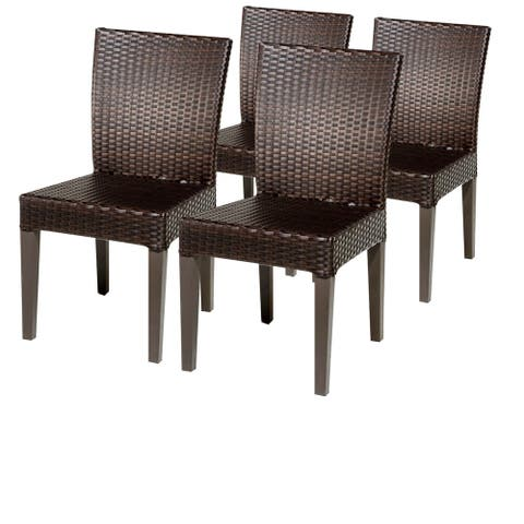 4 Belle Armless Dining Chairs