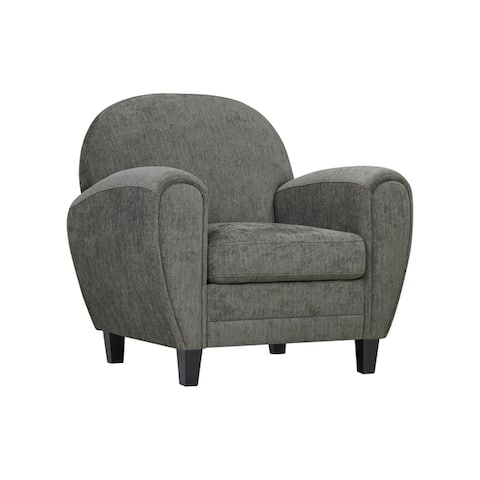 Handy Living Valencia Modern Upholstered Club Chair