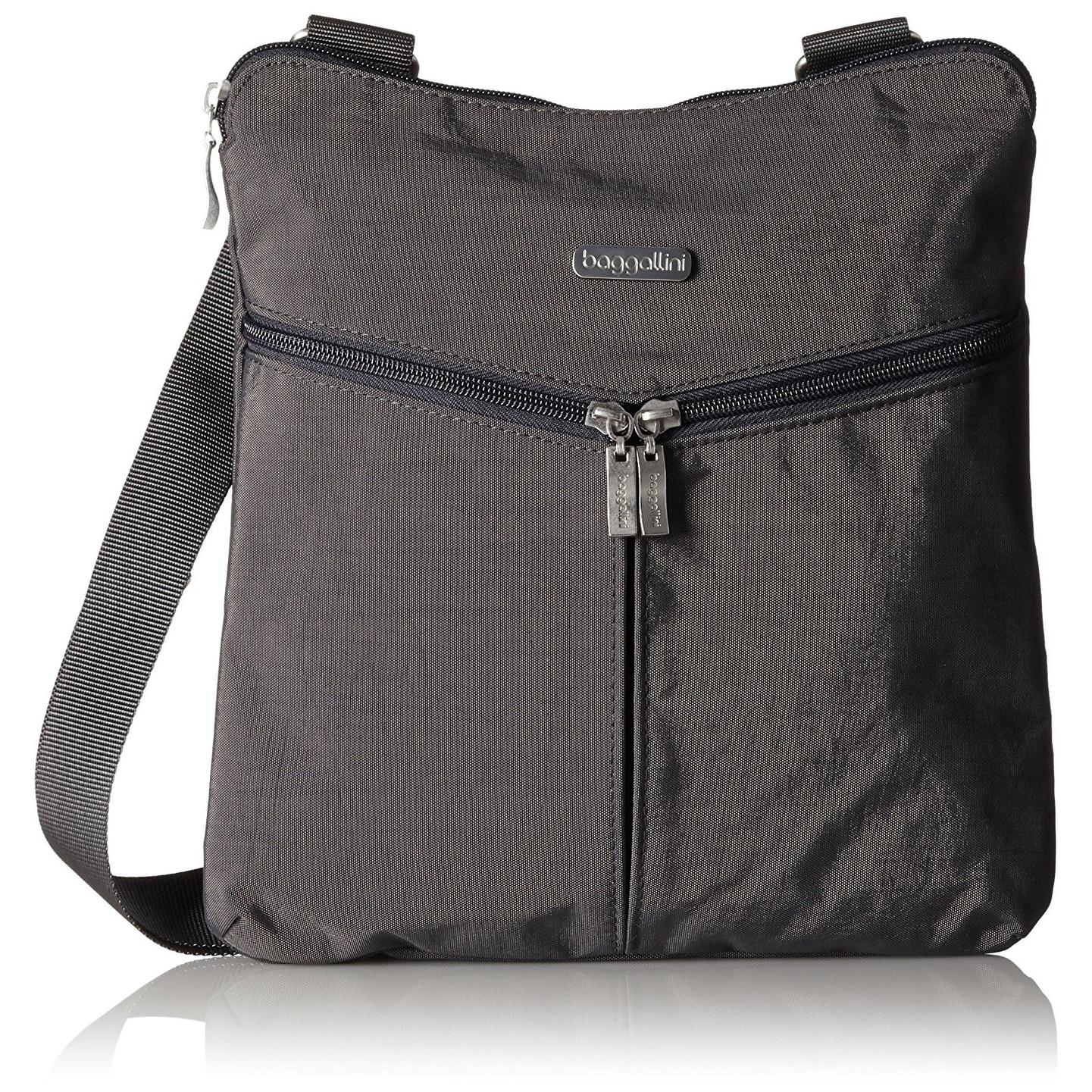 Baggallini Horizon Lightweight Crossbody Bag Multi Pocketed Travel Purse Hrz649clfs Zipper