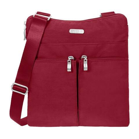Baggallini Horizon Lightweight Crossbody Bag - Multi-Pocketed - Travel Purse - HRZ649APCD - Zipper