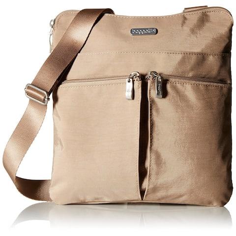 Baggallini Horizon Lightweight Crossbody Bag - Multi-Pocketed - Travel Purse - HRZ649BEFS - Zipper