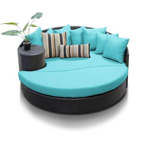 Barbados Circular Sun Bed - Outdoor Wicker Patio Furniture