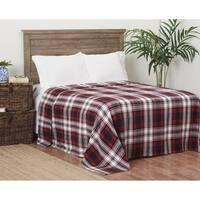 Fireside Plaid Cotton Blanket