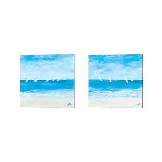 Julie DeRice 'Windjammer' Canvas Art (Set of 2)
