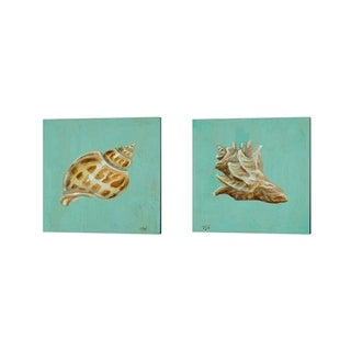 Tiffany Hakimipour 'Ocean's Gift' Canvas Art (Set of 2)
