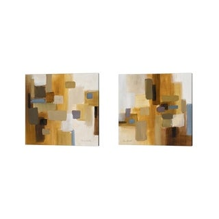 Lanie Loreth 'Spring is in the Air' Canvas Art (Set of 2)
