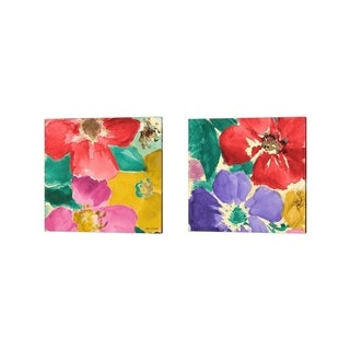 Lanie Loreth 'Summer Sonata Square' Canvas Art (Set of 2)